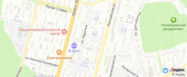 Львовская улица на карте Уфы с номерами домов