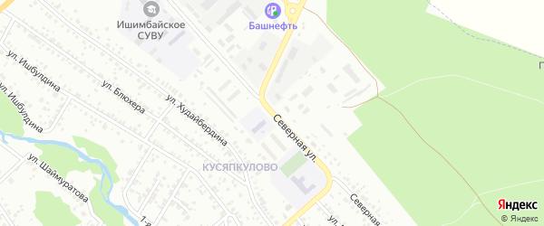 Северная улица на карте Ишимбая с номерами домов
