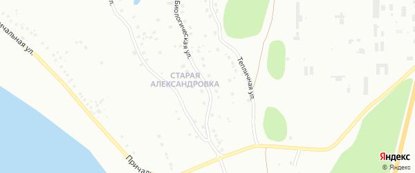 Биологическая улица на карте Уфы с номерами домов