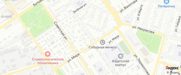 Уральская улица на карте Ишимбая с номерами домов