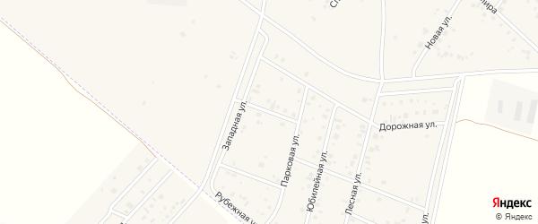 Степная улица на карте деревни Старые Киешки с номерами домов
