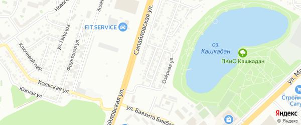 Чермасанская улица на карте Уфы с номерами домов
