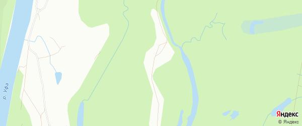 Карта Кордона N6 города Уфы в Башкортостане с улицами и номерами домов