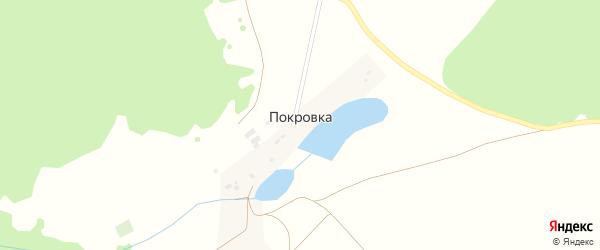 Улица Журавлева на карте деревни Покровки с номерами домов