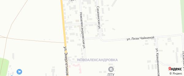 Неманская улица на карте Уфы с номерами домов