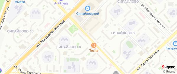 Баязита Бикбая улица на карте Уфы с номерами домов