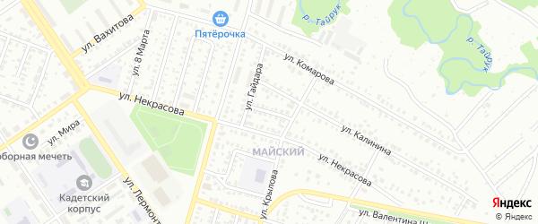 Тукая улица на карте Ишимбая с номерами домов