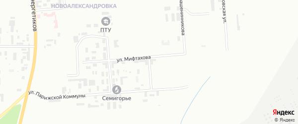 Улица Цулукидзе на карте Уфы с номерами домов