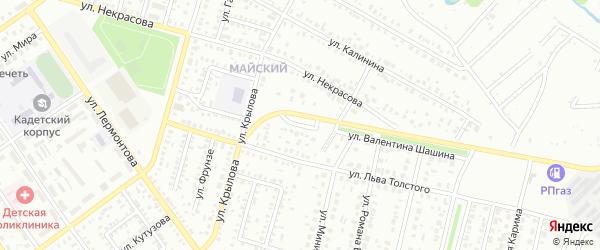 Улица Чернышевского на карте Ишимбая с номерами домов