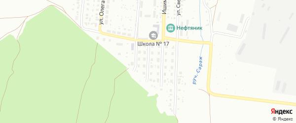 Улица 50 лет Башкирии на карте Ишимбая с номерами домов