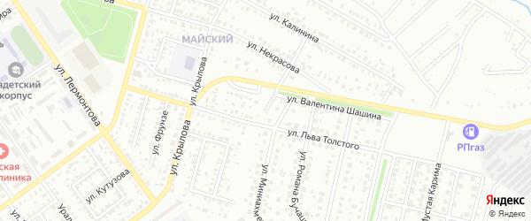 Улица Жданова на карте Ишимбая с номерами домов