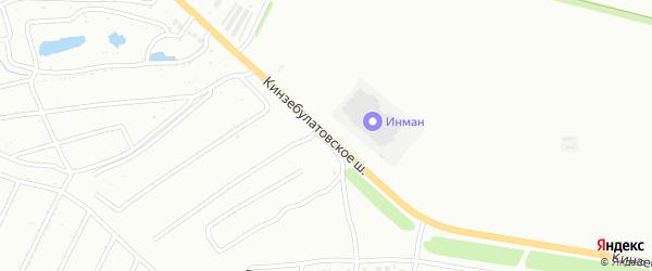Кинзебулатовское шоссе на карте Ишимбая с номерами домов