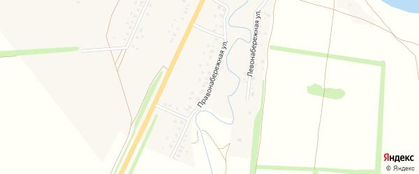 Правонабережная улица на карте деревни Смаково с номерами домов