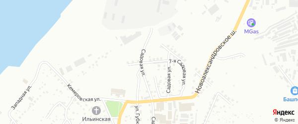 Чукотская улица на карте Уфы с номерами домов