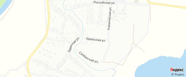 Уральская улица на карте Стерлитамака с номерами домов