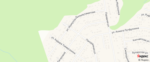 Панорамная улица на карте села Нагаево с номерами домов