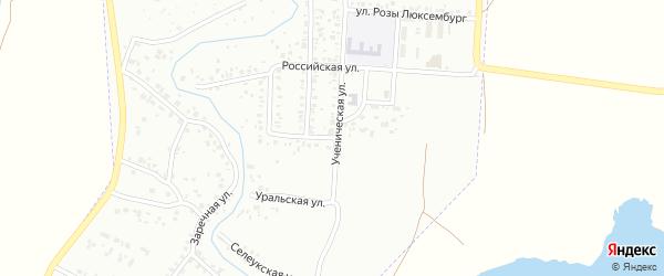 Российская улица на карте Стерлитамака с номерами домов