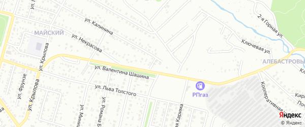 Вишневая улица на карте Ишимбая с номерами домов