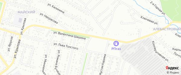 Улица В.Шашина на карте Ишимбая с номерами домов