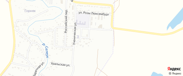 Улица Горняков на карте Стерлитамака с номерами домов