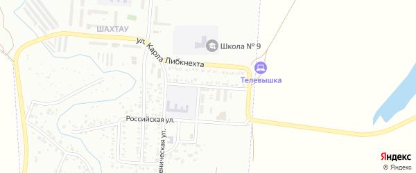 Улица Розы Люксембург на карте Стерлитамака с номерами домов