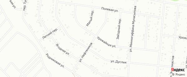Улица Нефтяников на карте Ишимбая с номерами домов