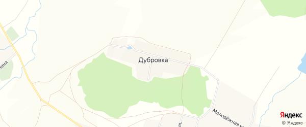 Карта деревни Дубровки в Башкортостане с улицами и номерами домов