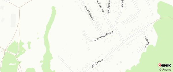 Улица Фадеева на карте Ишимбая с номерами домов