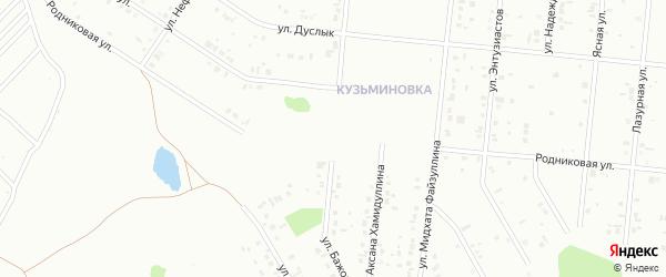 Родниковая улица на карте Ишимбая с номерами домов