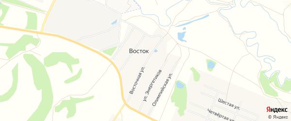 Карта деревни Востока в Башкортостане с улицами и номерами домов