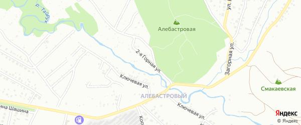 Горная 2-я улица на карте Ишимбая с номерами домов