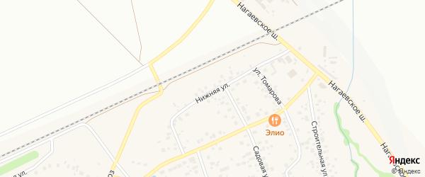 Улица Нижний Делегатский на карте Уфы с номерами домов