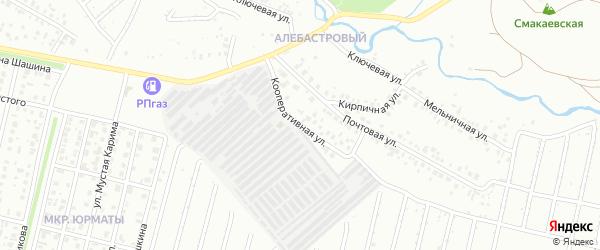Кооперативная улица на карте Ишимбая с номерами домов