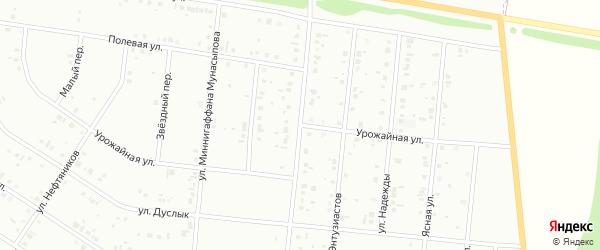 Урожайная улица на карте Ишимбая с номерами домов