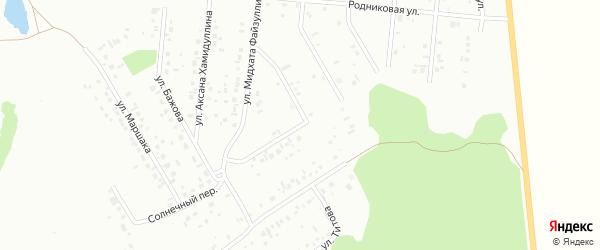 Улица Мухаметкулова на карте Ишимбая с номерами домов