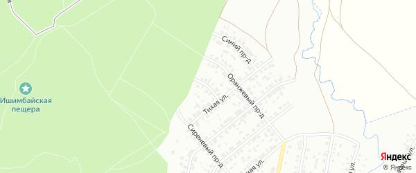 Малиновый проезд на карте Ишимбая с номерами домов