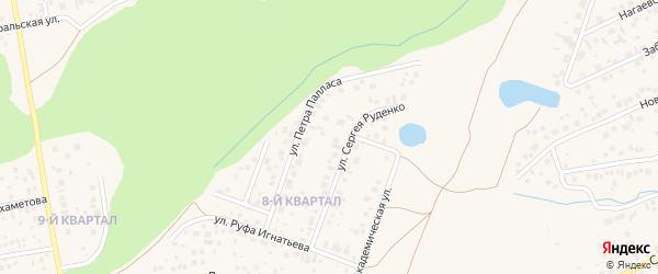 СНТ Ягодка на карте Октябрьского с номерами домов