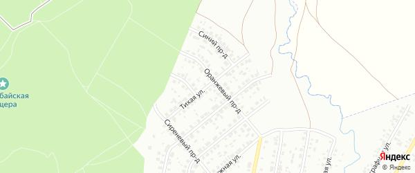 Тихая улица на карте Ишимбая с номерами домов