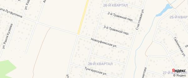 Улица Василия Катаринского на карте села Нагаево с номерами домов