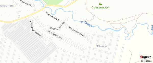 Мельничная улица на карте Ишимбая с номерами домов