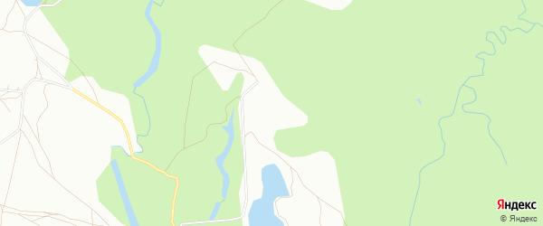 Карта населенного пункта Нагаевского Кордона города Уфы в Башкортостане с улицами и номерами домов