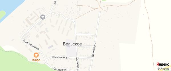 Молодежная улица на карте Бельского села с номерами домов