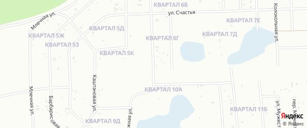 Улица Домостроителей на карте деревни Карпово с номерами домов