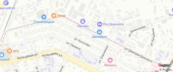Улица Генерала Шаймуратова на карте Уфы с номерами домов