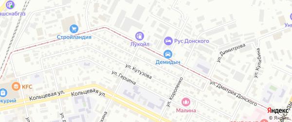 Улица Шаймуратова на карте Октябрьского с номерами домов