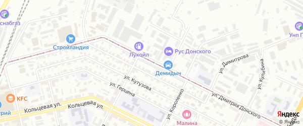 Улица Дмитрия Донского на карте Уфы с номерами домов