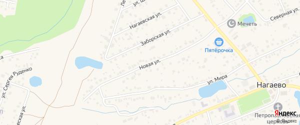 Новая улица на карте Уфы с номерами домов