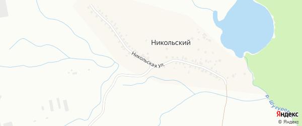 Загородная улица на карте Уфы с номерами домов