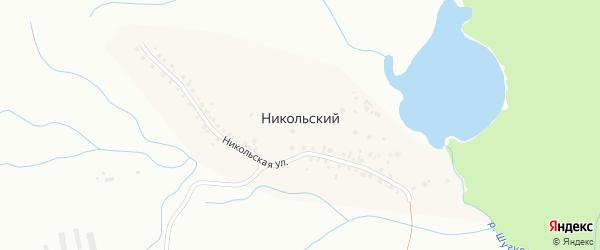 Никольская улица на карте Никольского поселка с номерами домов