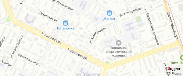 Пекинская улица на карте Уфы с номерами домов